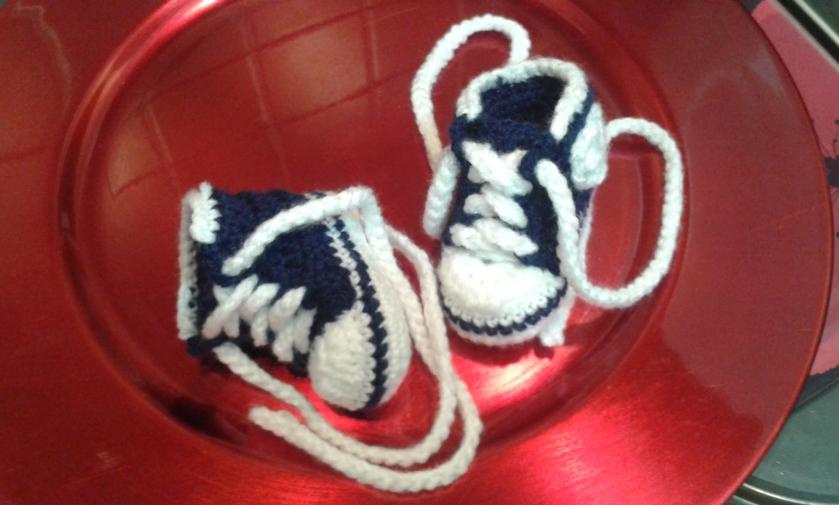 Imitation All-Star Converse: in crochet!