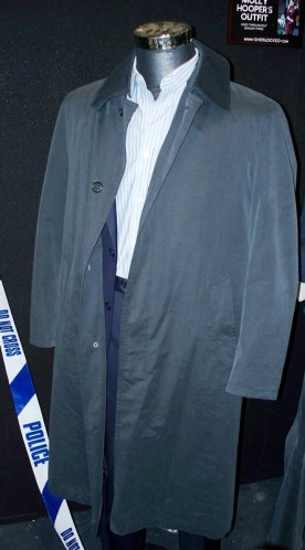 Greg Lestrade's outfit.