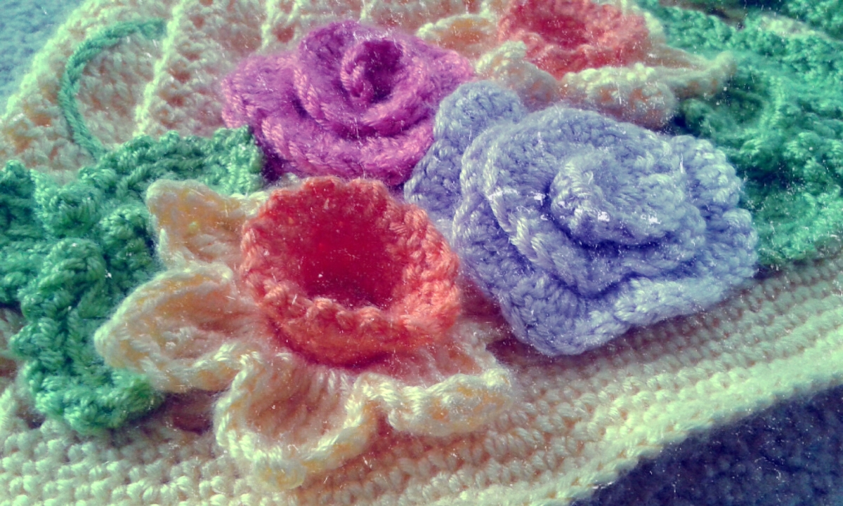 Spring Cloche Hat Crochet Project