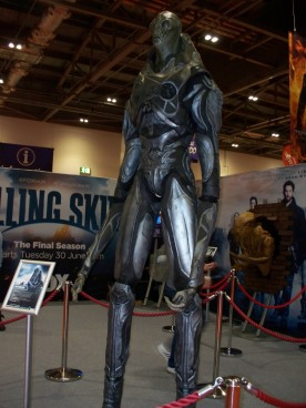 One of the alien creatures from Falling Skies.