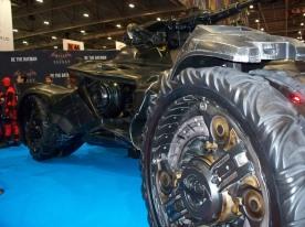 Batmobile - it's huge!