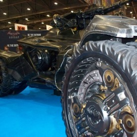 Batmobile - it's huge!