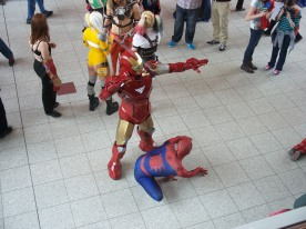 Iron Man and Spidey!