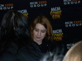 Felicia Day - the only OK shot I managed to get!