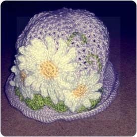 Daisy hat, right.