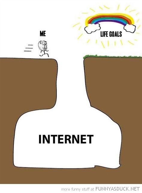 life goals internet
