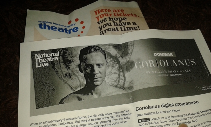 Coriolanus NTLive (Encore) Screening