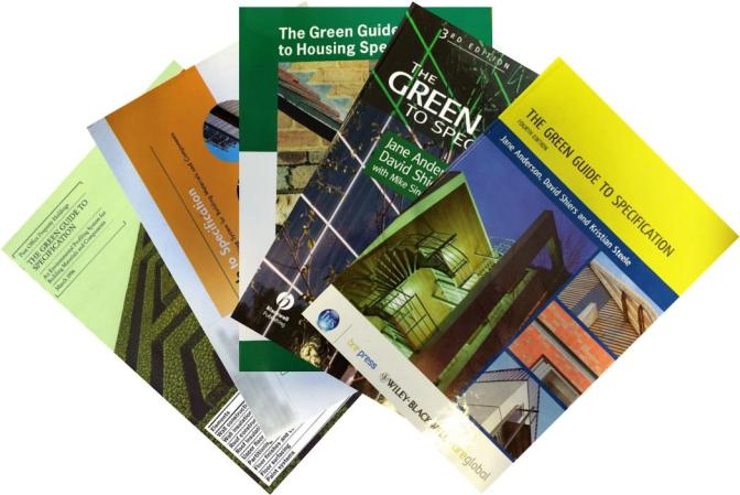 BRE Buzz » The Green Guide to Specification: Past, Present & Future