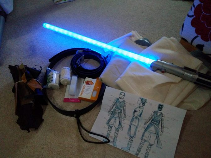 Rey Cosplay for LFCC – Progress