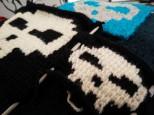 Skull Pixel Crochet