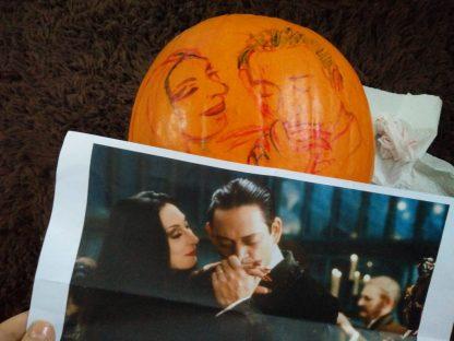 Addams Family Pumpkin Carving