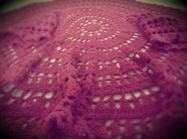 Circular Crochet Cardigan