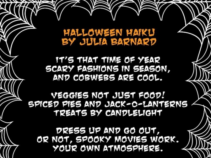 Revisit Halloween with a Haiku poem
