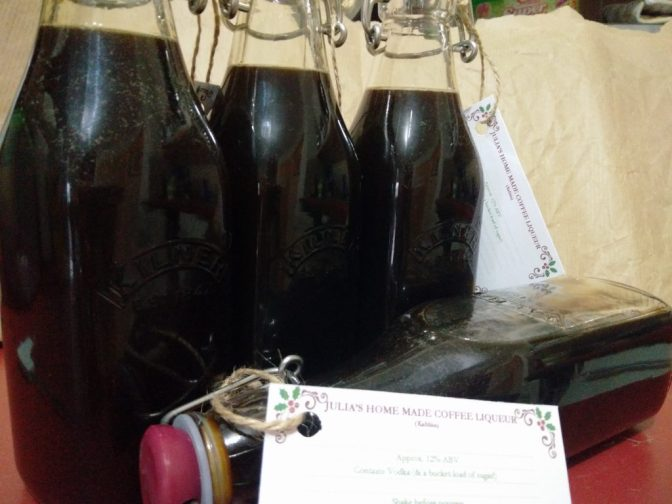 Home Made Coffee Liqueur