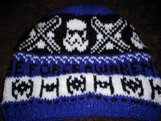 Knitted Star Wars Hat Project