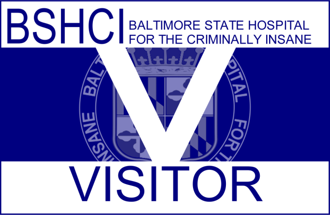 Baltimore State Hospital For The Criminally Insane