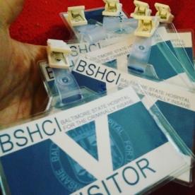 BSHCI ID Badges