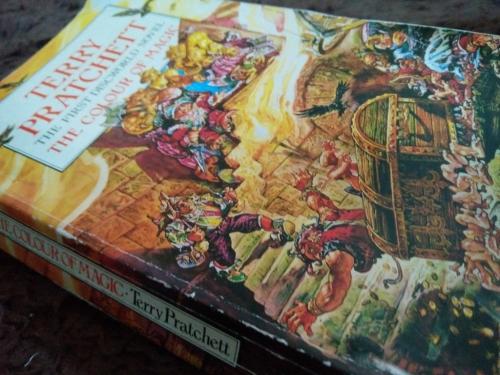 The Colour Of Magic Terry Pratchett