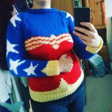 Wonder Woman Knitted Jumper