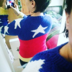 Wonder Woman Knitted Jumper