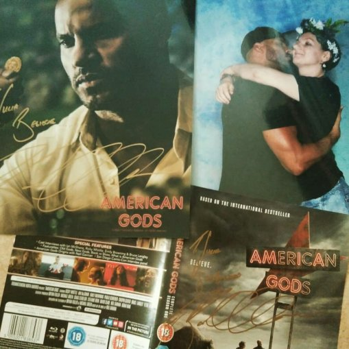 Ricky Whittle Autographs & Photo