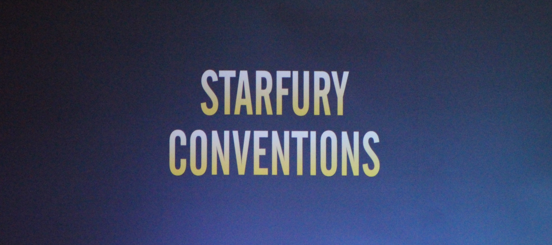 Starfury Cross Roads – Supernatural Con Report