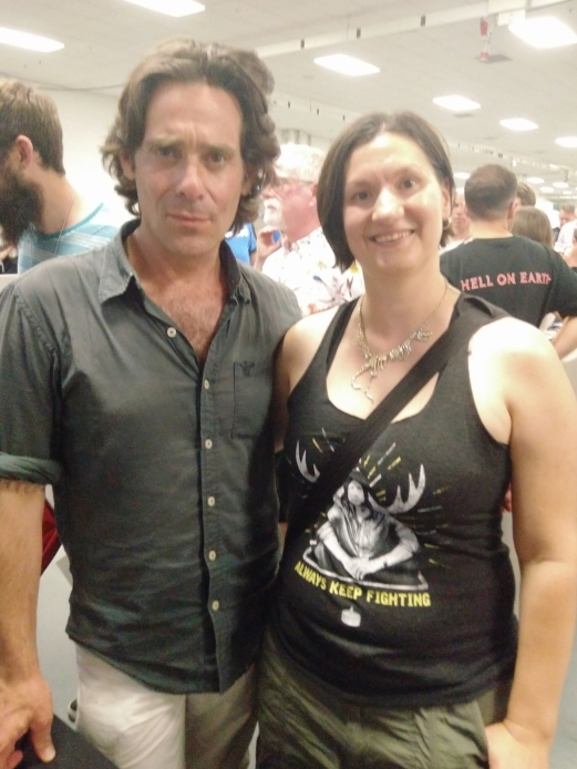 08 ME And James Callis LFCC 2018